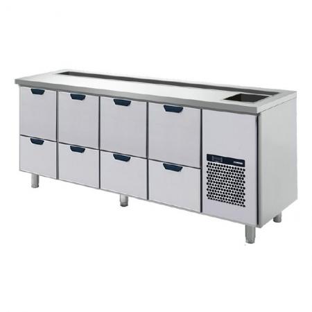 Baarimestarin työpöydät - käytetyt
